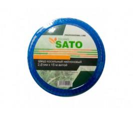 Шнур косильный нейл. 3,0мм х 56м квадратный SATO 01_0295728