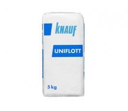 Шпатлёвка гипсовая, белая для заполнения швов, КНАУФ УНИФЛОТ, 5 кг.